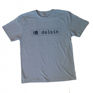 Delsin Text Light Blue